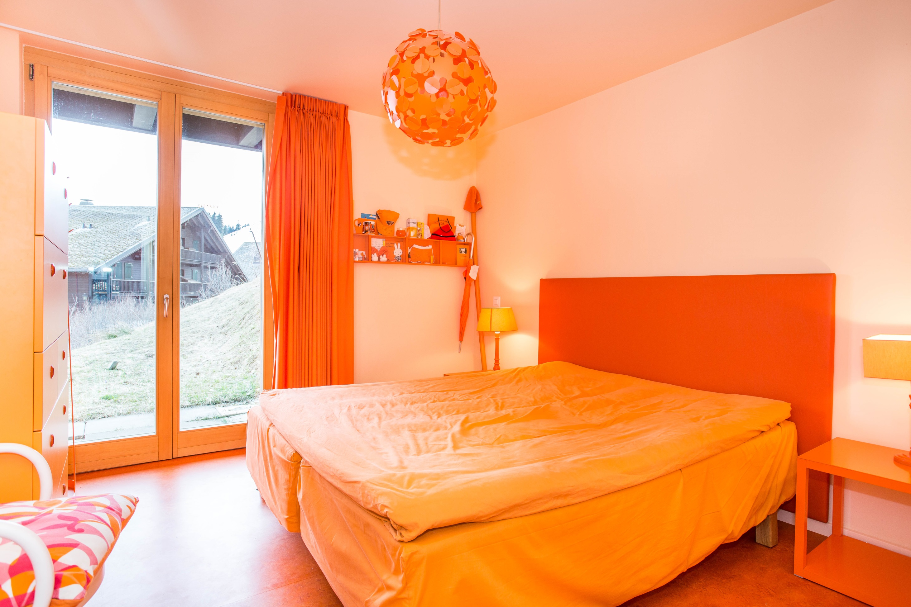 Chambre Orange 1 Gf Immobiliergf Immobilier